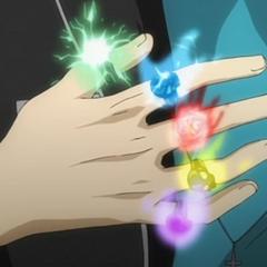 Adi używa 5 Pierścieni na raz
