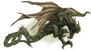 Wyvern beast