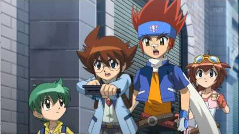 Metal Fight Beyblade 4D Episode 105 - Lynx, the Mysterious Cat (FULL)