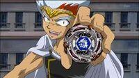 Ryuga with Meteo L-Drago