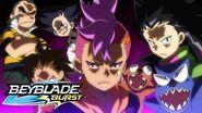 BEYBLADE BURST Meet the Bladers Beasts Team
