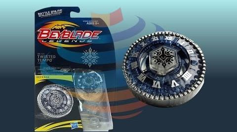 Beyblade Legends BB-104 Twisted Tempo 145WD Review Unboxing Giveaway Expires Aug 6th 2014