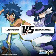 Laban vs. Count Nightfell