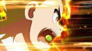 Ranjiro's raging aura