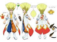 Beyblade Burst Superking Ranjiro Kiyama Concept Art 2