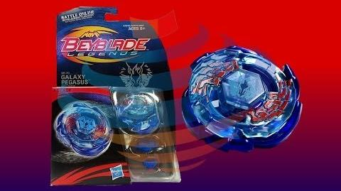 Beyblade Legends BB-70 Galaxy Pegasis W105R2F Review Unboxing Giveaway Expires Aug 6th 2014