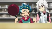 Valt and Shu cooking