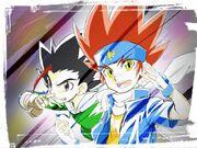 Gingka and Masamune fanart