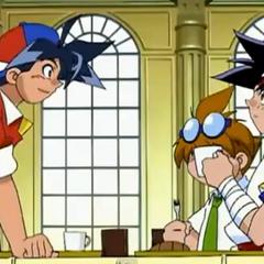 Tyson, Kenny und Ray im Speisesaal.