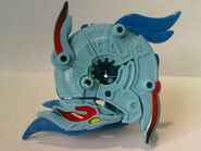 Griffolyon beyblade form of the beast