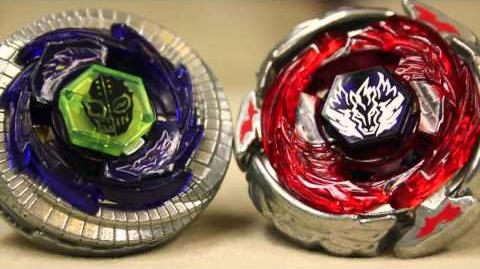 EPIC BEYBLADE BATTLE Wing Pegasus 90WF VS Duo Uranus 230WD 爆旋陀螺 ベイブレード