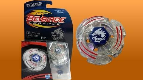 Beyblade Legends BB-43 Lightning L-Drago 100HF Review Unboxing Giveaway Expires July 27th 2014