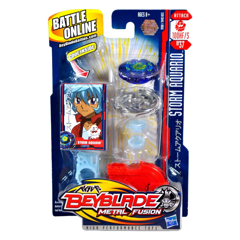 ThePortal0 TAKARA TOMY Beyblade BB37 Booster Light Vol.2 Wind Aquario HF//S