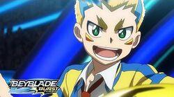 BEYBLADE BURST RISE Episode 7 Part 2 Rise and Shine! Hyper-Flux!