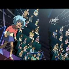 Hikaru als Kind bei einem Turnier