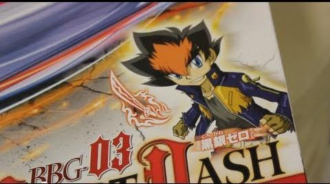 【BEYBLADE Zero-G START DASH SET】 BBG-03 Unboxing!! - Samurai Ifraid W145CF & Attack Stadium