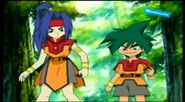 Beyblade V-Force - Max & Ray vs Mariam & Joseph 178779
