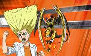 Beyblade Burst Turbo Ranjiro Kiyama and Crash Roktavor Avatar USA Website Poster