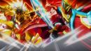 Beyblade Burst Chouzetsu Cho-Z Spriggan 0Wall Zeta' vs Cho-Z Achilles 00 Dimension 2