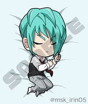 Chibi Delta sleeping