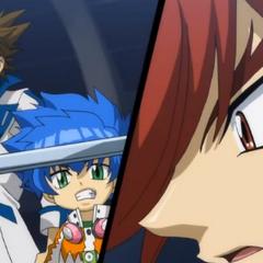 Kite und sein Bruder sehen Sakyo