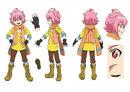Beyblade Burst Akira Yamabuki Concept Art 2