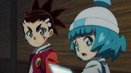 Aiga and Naru looking