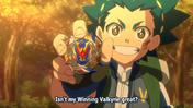 Valt and winning valkyrie