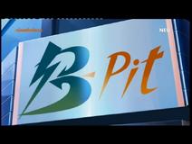 B Pit logo
