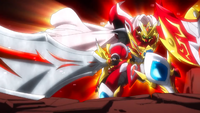 Beyblade Burst Superking Infinite Achilles Dimension' 1B avatar 22