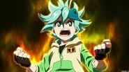 Toko's aura activates