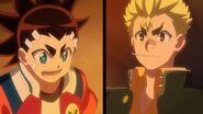 Aiger and Rantaro shocked