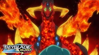 BEYBLADE BURST RISE Episode 8 Part 2 The Demon Bey! Devolos!