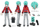 Beyblade Burst GT Delta Akane Concept Art 2