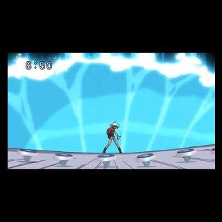 Storm Aquario bei der Ausführung seines Special Moves.