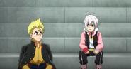 Shu and Rantaro hang out