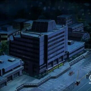 Das Forschungslabor von oben.