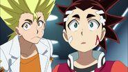 Aiga and Ranjiro in awe