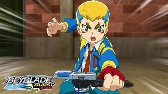 BEYBLADE BURST RISE Episode 1 Part 2 Lookin' Awesome! Bushin Ashindra!