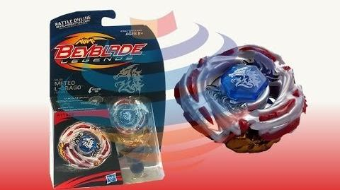 Beyblade Legends BB-88 Meteo L-Drago LW105LF Review Unboxing Giveaway Expires Aug 6th 2014