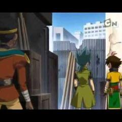 Demure folgt Nile und Kyoya