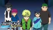 BEYBLADE BURST Meet the Bladers Ice Blaze Team