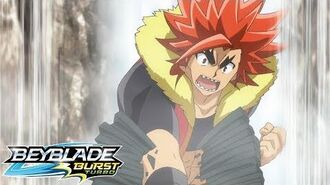 BEYBLADE BURST TURBO Episode 17 Sword of the Legendary Hero!