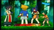 Beyblade V-Force - Max & Ray vs Mariam & Joseph 227394
