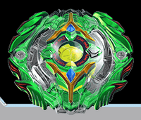 BB Yeager Yggdrasil Gravity Yielding Beyblade