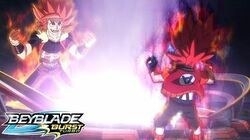 BEYBLADE BURST TURBO Episode 27 - Road to Glory!