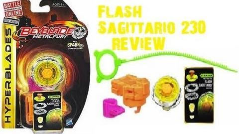 1'st on YouTube! Hasbro Flash Sagittario 230WD Review!! (2)