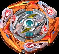 BBSK Glide Ragnaruk Wheel Revolve 1S Beyblade (Rantaro)
