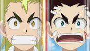 Ranjiro and Aiga freak out