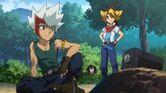 Ryuto, Sora and Tetsuya Zero-G